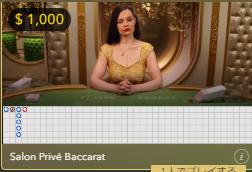 ラッキーカジノのライブバカラは万ドルベットできる?